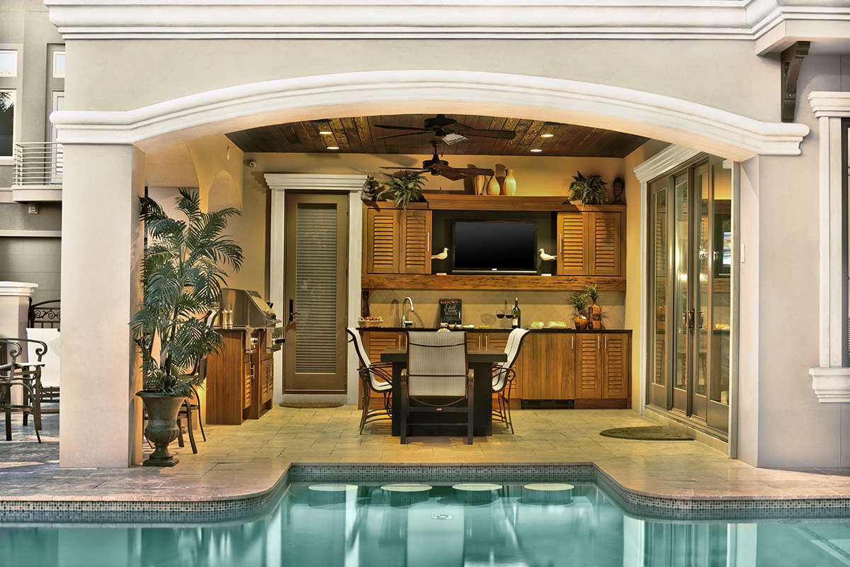 Outdoor Cabinets Of Distinction