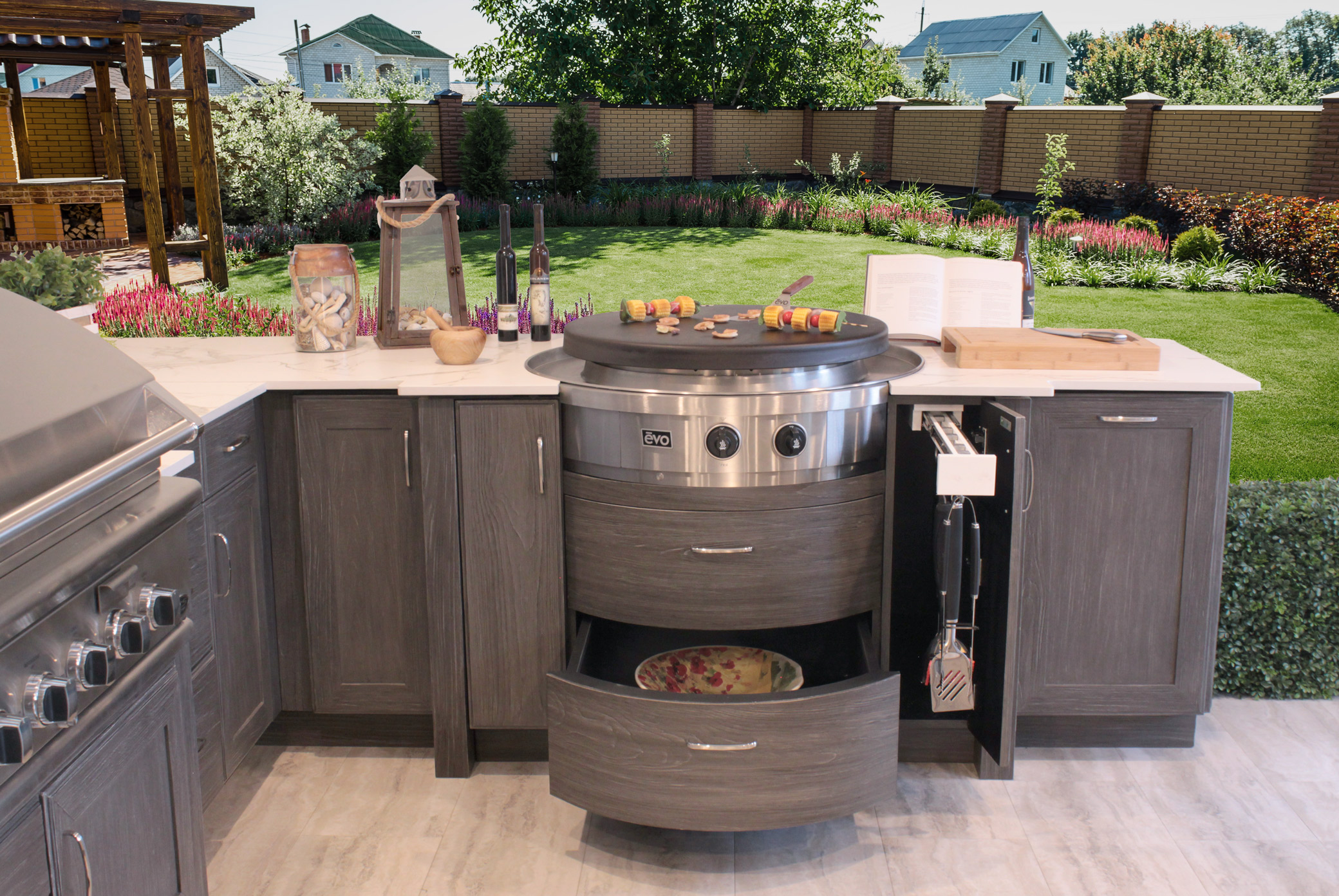 Outdoor Cabinets Of Distinction Discover The Beauty Of Naturekast Founded in 2001, evo, inc. outdoor cabinets of distinction