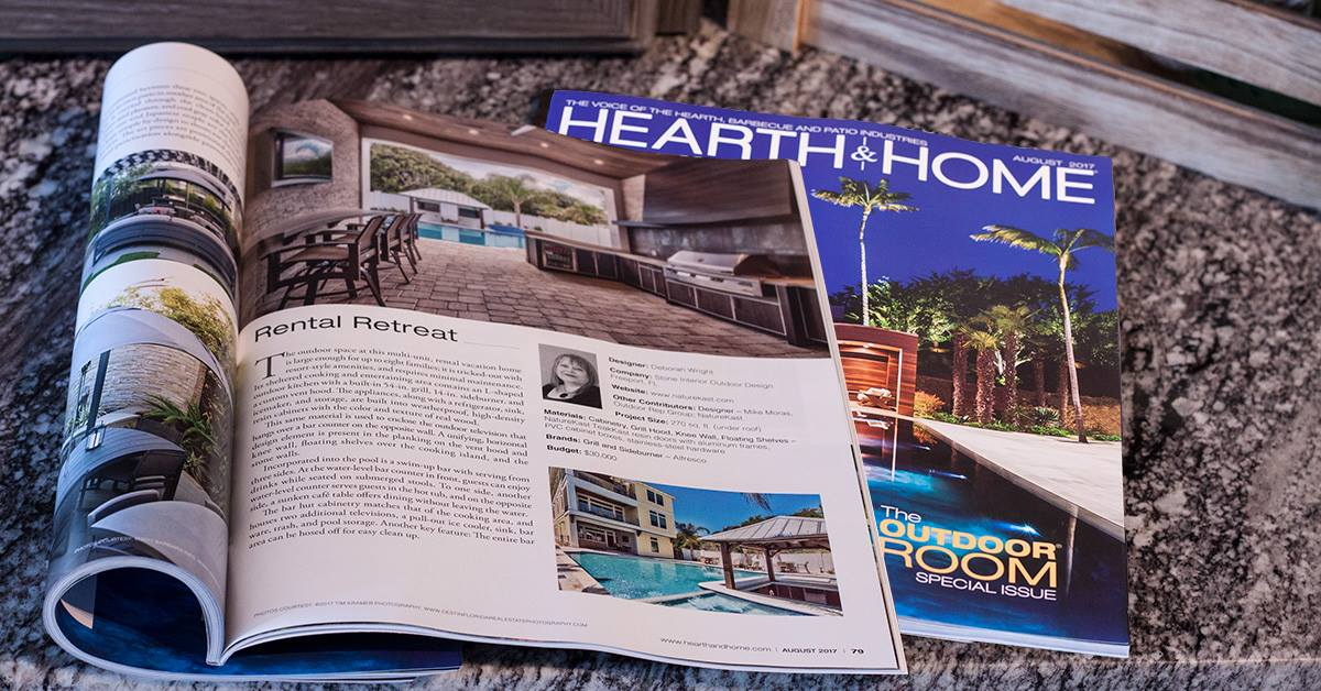 Hearth and Home In The Press